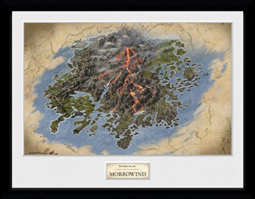 The Elder Scrolls Online Framed Collector Poster - Morrowind