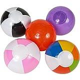 "Beach Balls (25 Count) ~ Mini Inflatable 6"""