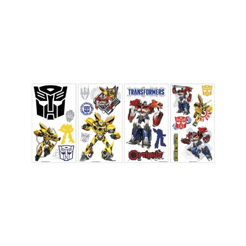 RoomMates RMK2461SCS Wall Decal, Multi (Wall Stickers Transformers)
