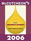 McCutcheon's Emulsifiers and Detergents : North American Edition, Michael Allured, 1933430060