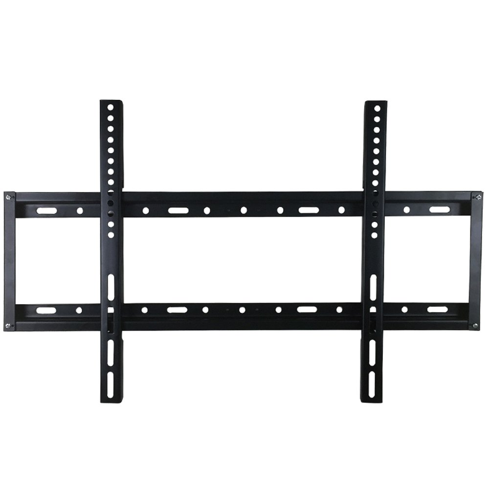 Fixed TV Wall Mount Bracket for 32-60 Inch LED LCD Plasma HDTV Smart TV Max VESA 600x400mm Super Strong 77 lbs Capacity Bubble Level Included