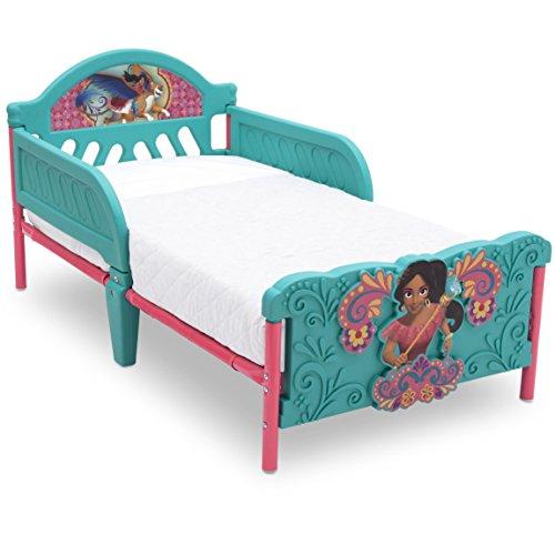 Delta Children 3D-Footboard Toddler Bed, Disney Elena of Avalor