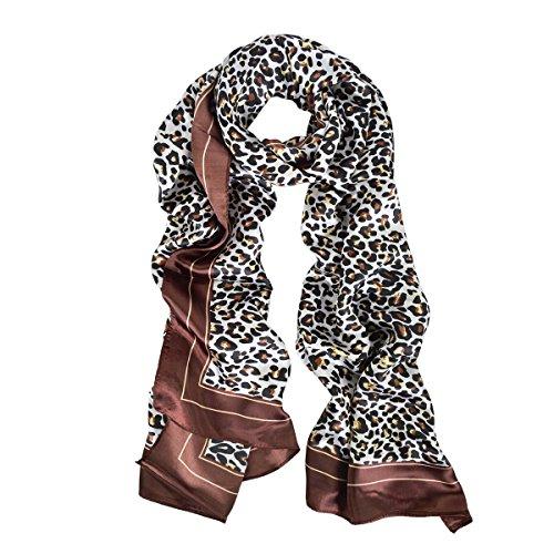 Elegant Satin Leopard Animal Print product image