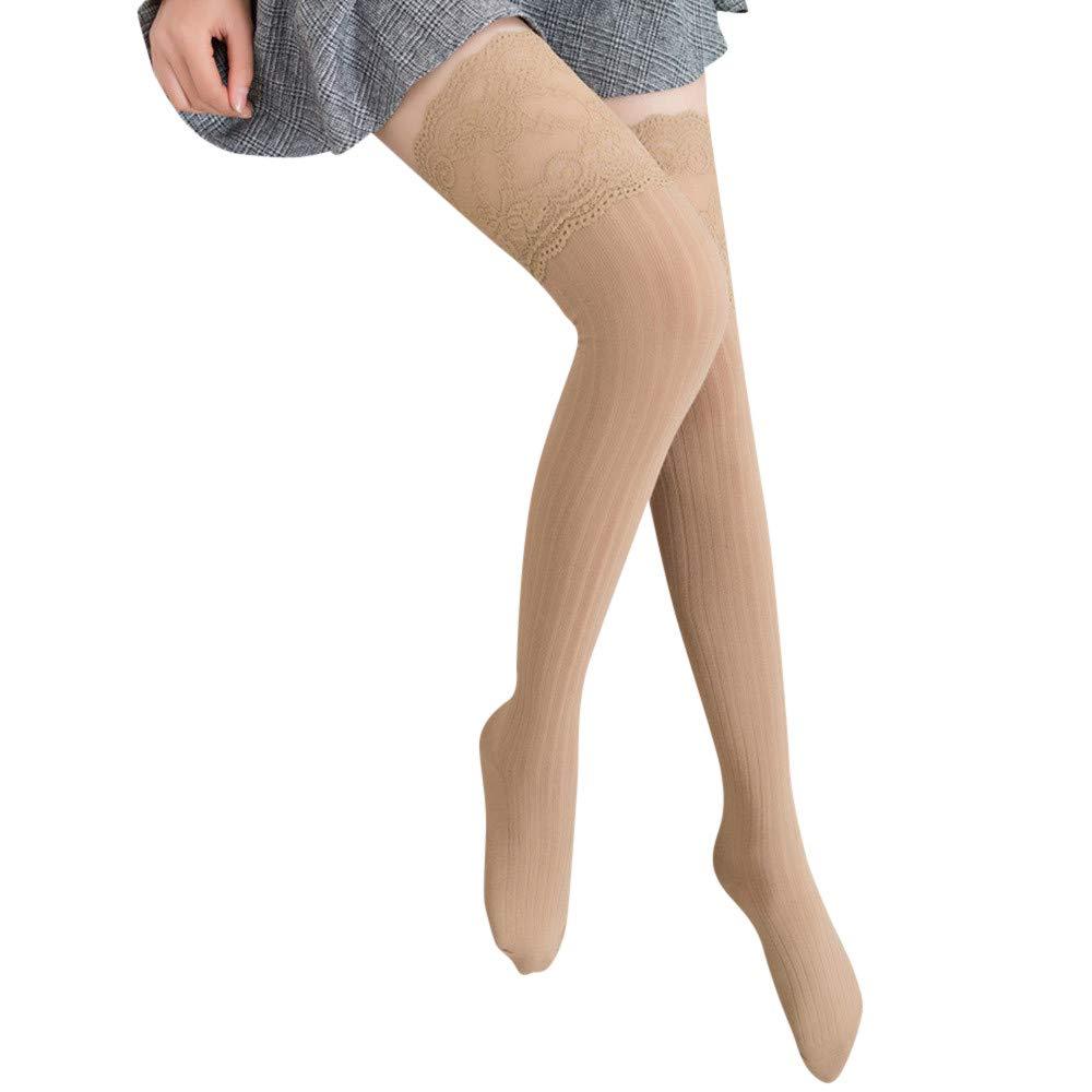Socks Medias de Tubo Medio Raya de Color Calcetines Mujer ...