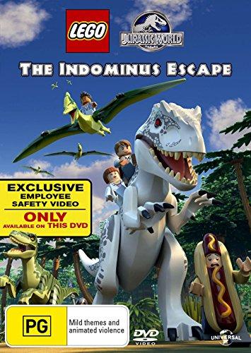 Lego Jurassic World The Indominus Escape | NON-USA Format | PAL | Region 4 Import - Australia -  DVD, Michael D. Black