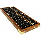 Wowlife Vintage-Style Chinese Wooden Abacus, Chinese Lucky Calculator