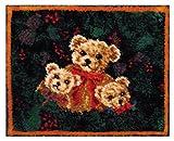 MCG Textiles 37720 3 Bears Latch Hook Rug Kit