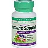 Quantum Health Immune Support System Strength – 30 Capsules – Made with Elderberry, Echinacea, Goldenseal, Vitamin C