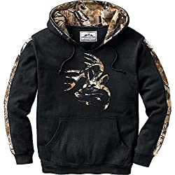 Legendary Whitetails Mens Outfitter Hoodie Onyx X-Large