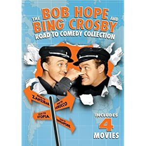 The Bob Hope and Bing Crosby Road to Comedy Collection (1940)