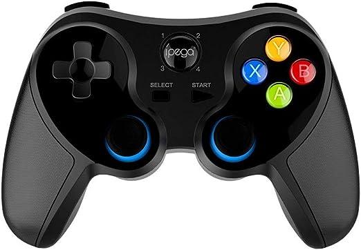 Negaor PG-9157 BTワイヤレスGampepadゲームコントローラフレキシブルジョイスティック、Android PC TVボックス用電話ホルダー付き