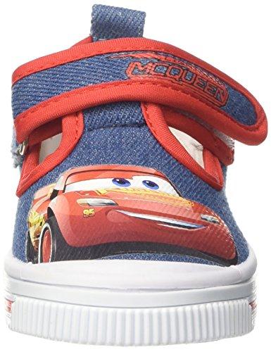 Disney Tela, Zapatillas Para Niños Blu (Denim)