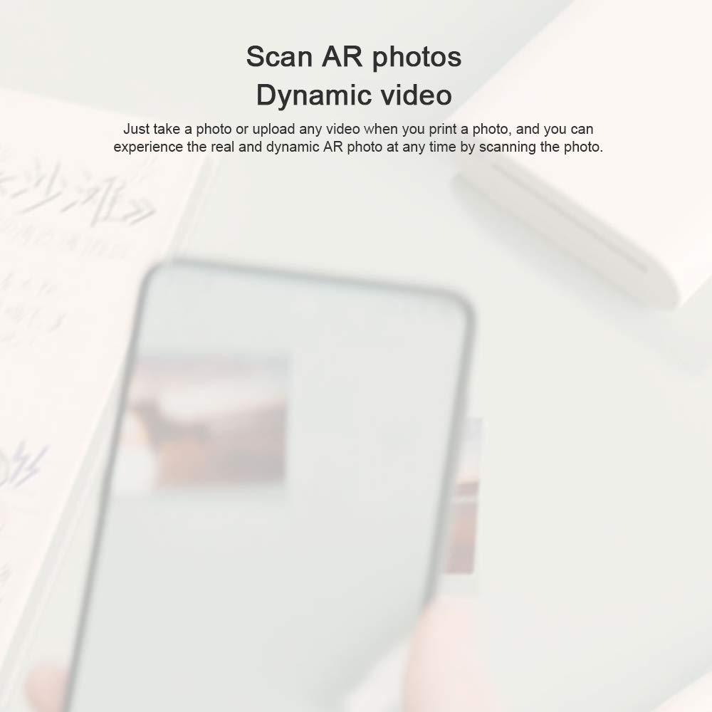 Bainuojia Premium ZINK Paper Papel fotogr/áfico 2 x 3,20 Hojas