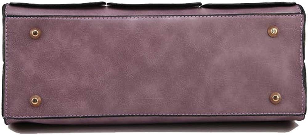 LTDH Women Tote Bag Leather Handbag Ladies Purses Satchel Fashion Shoulder Bag Top Handle Bag