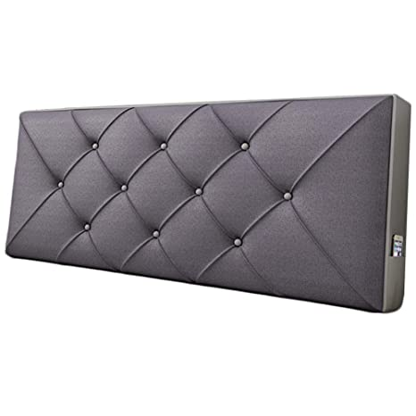 Amazon.com: WENZHE cabecero tapizado cabecero de cama cojín ...