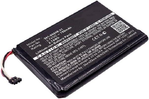 subtel® Batería Premium Compatible con Garmin DriveAssist 50LMT-D/DriveLuxe 50LMT-D, 010-01531-00, 361-00056-21 750mAh Pila Repuesto bateria