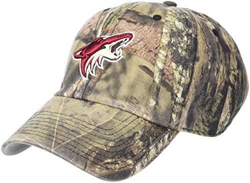 (OTS NHL Arizona Coyotes Challenger Adjustable Hat, Mossy Oak - Break Country, One)
