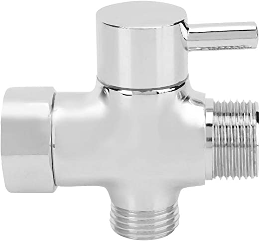 "T-adapter Valve 3-Way Brass For Toilet Bidet Shower Head Diverter 7//8/""// 1//2/"""