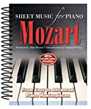 Mozart: From Easy to Intermediate Piano Masterpieces (Sheet Music)