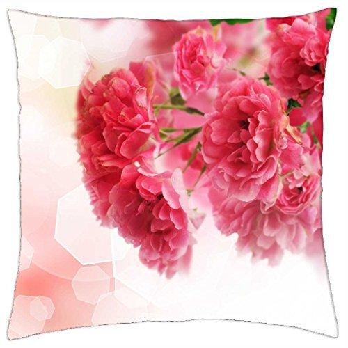 goodOne Funda de cojín con diseño de árboles Florales Rosas ...
