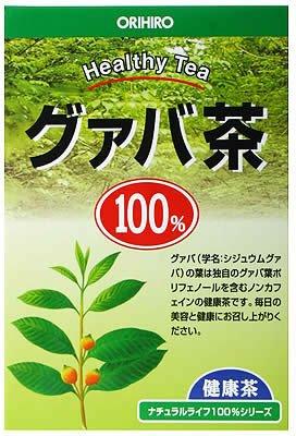 ORIHIRO NL Tea 100% Guava Tea 2g-25packs