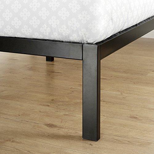 Zinus Modern Studio 14 Inch Platform 3000H Metal Bed Frame/Mattress Foundation/Wooden Slat Support/with Headboard, Queen