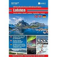Guía de turismo Noruega | Islas Lofoten 1: 250000
