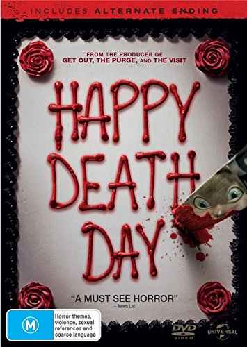 Scary Masks Australia (Happy Death Day | NON-USA Format | PAL | Region 4 Import -)