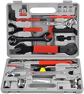 LARS360 44 piezas. Reparación de bicicletas Set Tool Case Bike ...