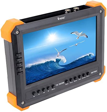 Seesii X41TA 7 LCD Screen HD-TVI AHD2.0 VGA CVBS Camera Video Test Tester 12V-Out X41TA