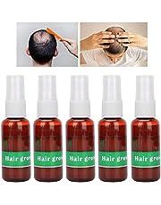 Haargroeiserum, 5 Stuks Haargroei Snelle & Haarverdikking Haargroeiserum Ondersteunt Haargroei Voedende Haargroei Vloeibare Haaruitval Behandeling Voor Mannen & Vrouwen (30ml)