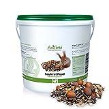 AniForte Squirrel Food Mix 2kg: 100% Natural Feed for Squirrels, Chipmunks & Wild Birds