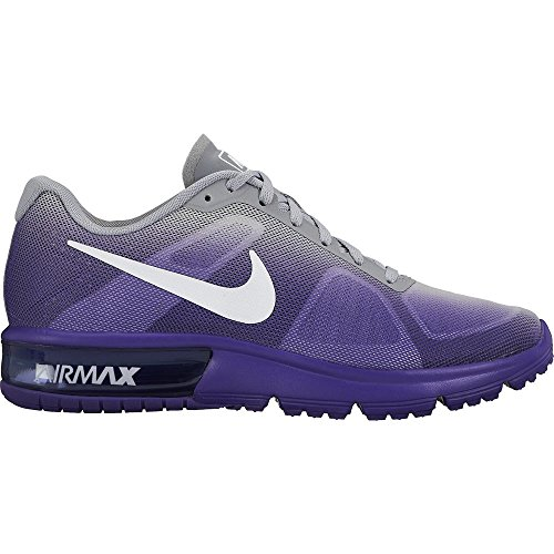 loup 9 gris Fierce M Shoe Violet Max Nike violet blanc Us Taille Air Running Sequent FxSfnSCH0
