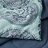 AmazonBasics 10-Piece Comforter Bedding Set, Full