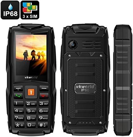 VKWorld Stone V3 Teléfono Móvil resistente robusto Rugged tri-sim ...