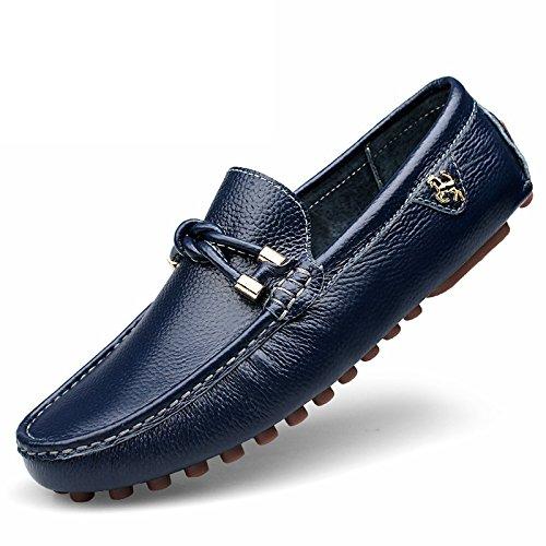 De Qualité Patins Chaussures Conduisant Haute Blue La L'homme Voiture Casual Classique zBq0tF
