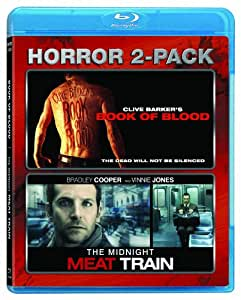 Horror Two Pack (Clive Barker's Book Of Blood / Midnight Meat Train) [Blu-ray]