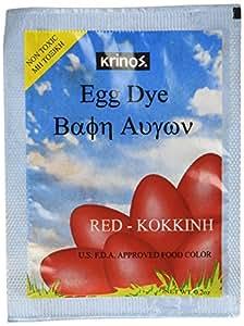 Easter Egg Dye - Red - Krinos