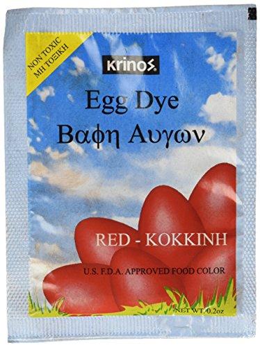 Easter Egg Dye - Red - Krinos (Egg Dye)