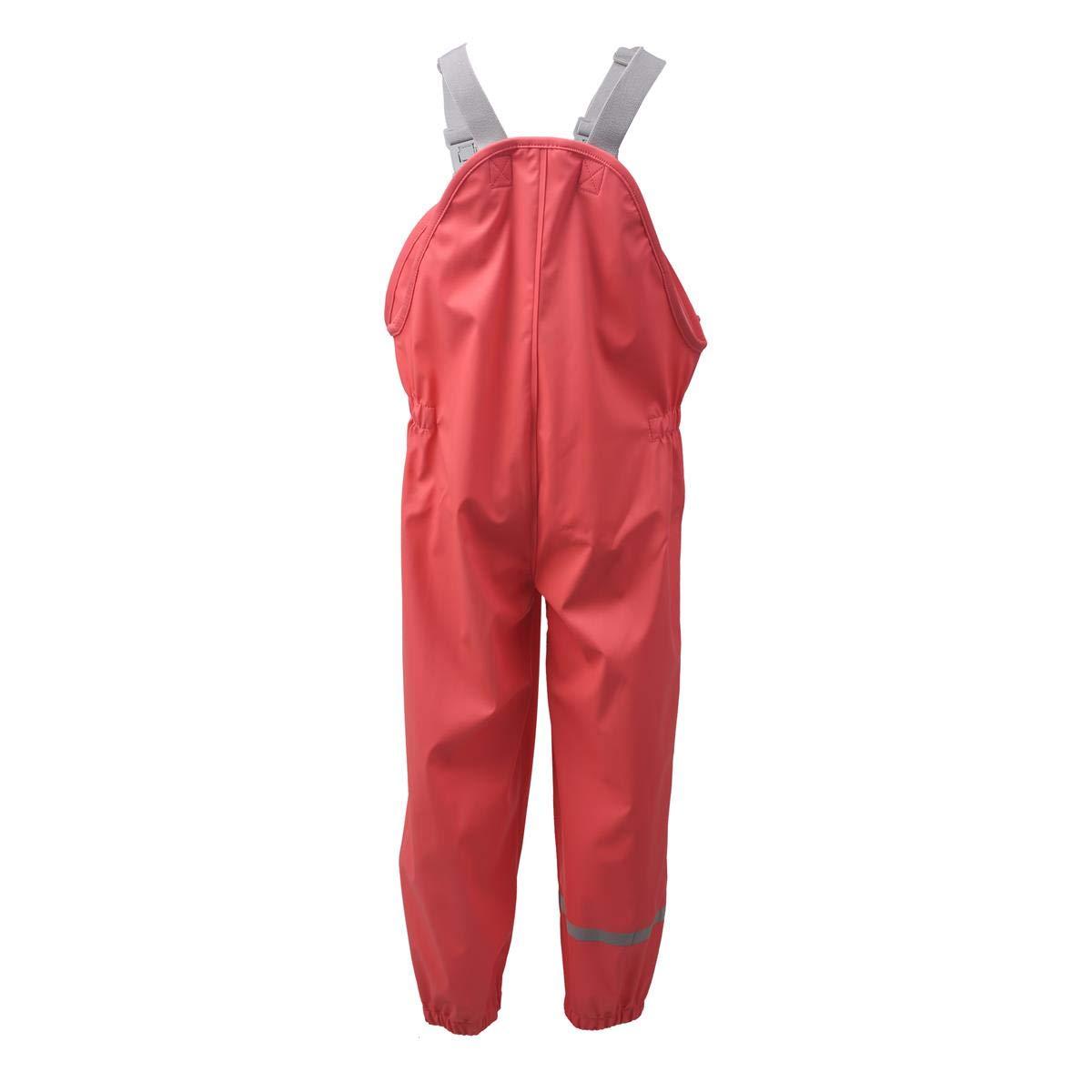 Farbe Kids Kids Kids Premium Regenhose, Regenjacke oder Set - Wasserdicht und Winddicht Dank verschweißter Nähte - Viele Farben für Mädchen und Jungen in den Größen 80 bis 140 - ÖKO Testsieger 2017 B07HFCQ74K Regenhosen König de 3b33dc