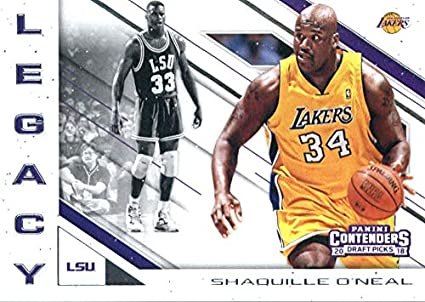 Los Angeles Lakers 2017-18 Hoops Shaquille O'Neal NBA 2K #21 Shaquille O'Neal Verzamelkaarten, ruilkaarten Verzamelkaarten: sport