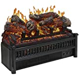 Pleasant Hearth LH-24 Electric Log Insert with Heater