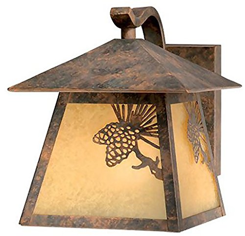(Vaxcel One Light Outdoor Wall Light OW50573OA One Light Outdoor Wall Light)
