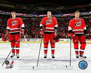 Jared Staal, Eric Staal, Jordan Staal Carolina Hurricanes 2013 NHL Photo 8x10