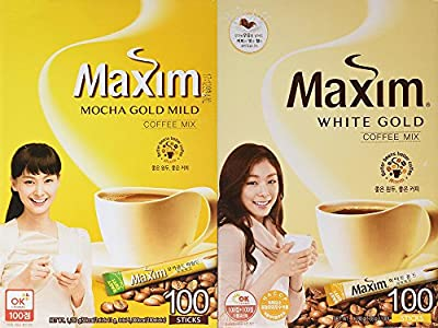 Maxim Coffee Mix, Instant Coffee (11.8 g / pk) by Maxim