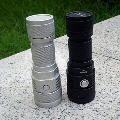 SC02 MTG2 5000K 26650 2000LM EDC LED Flashlight (Color Silver) by LEEPRA (Image #6)