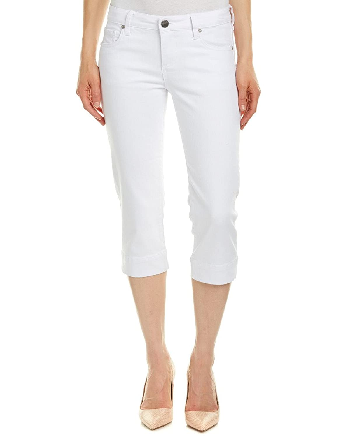 KUT from the Kloth Women's Basic Five-Pocket Crop Jeans in