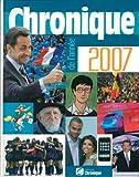 Chronique de l'année 2007