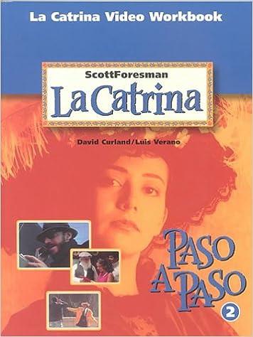 Amazon la catrina video workbook spanish edition la catrina video workbook spanish edition workbook edition fandeluxe Choice Image