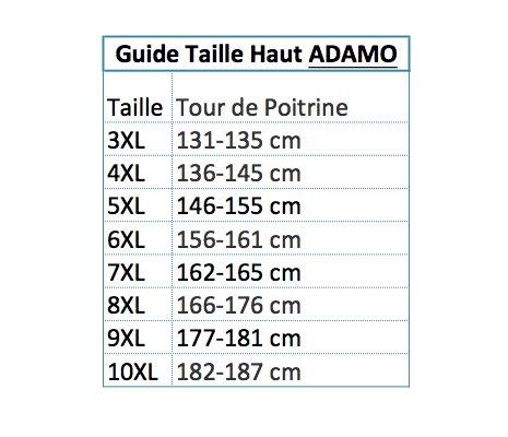 Noir Homme Rod Manches shirt Coloris Adamo T Sans Grande Taille HpqOT6w8